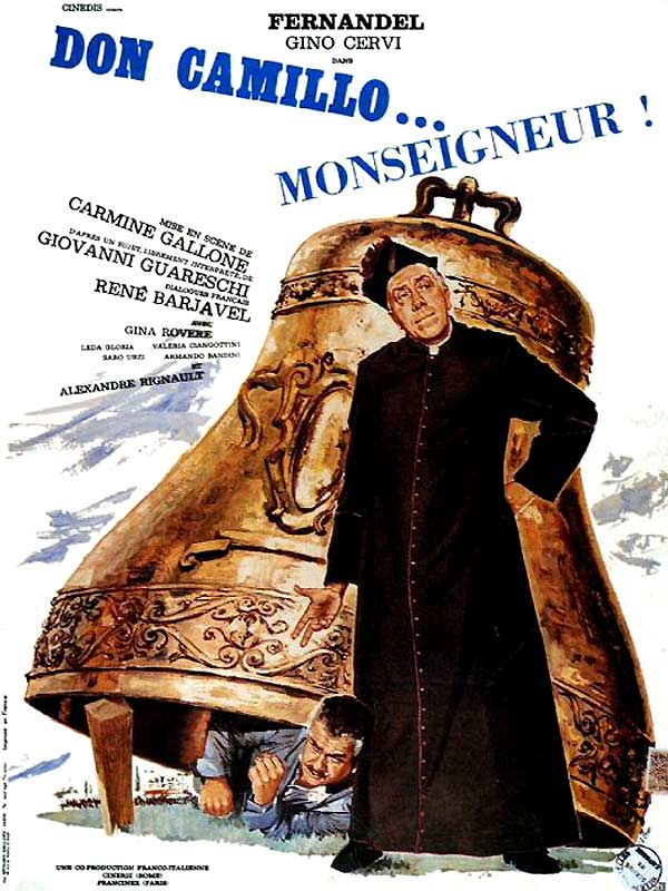 Don Camillo 4 : Don Camillo monseigneur affiche