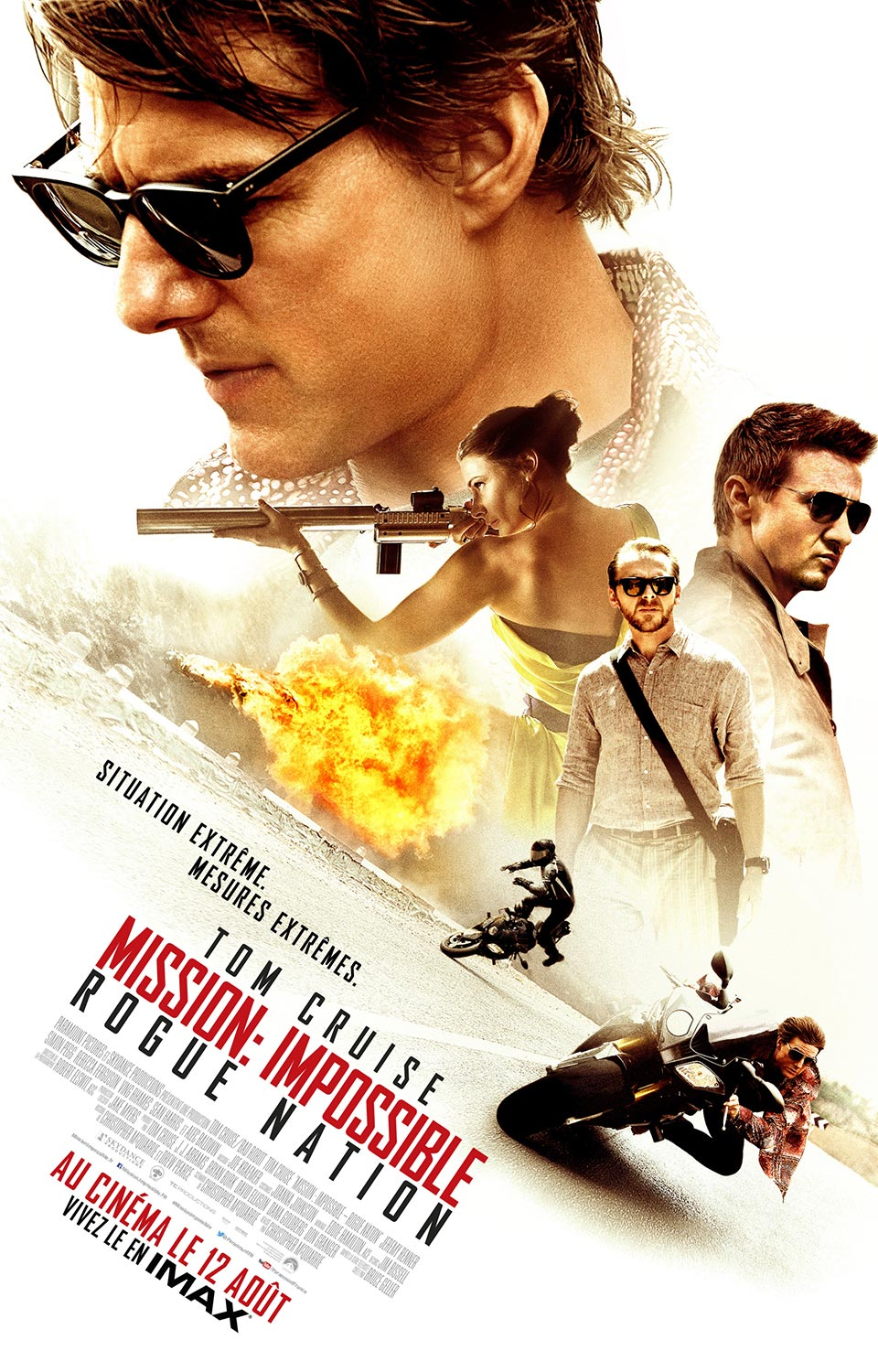 MISSION IMPOSSIBLE 5 : ROGUE NATION en streaming
