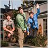 Workaholics : Photo Adam DeVine, Anders Holm, Blake Anderson