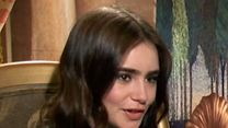 Lily Collins, Armie Hammer, Julia Roberts Interview : Blanche Neige