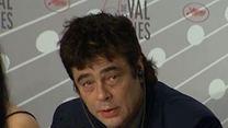 """Jimmy P."" : Benicio Del Toro, A. Desplechin et M. Amalric en conférence de presse"