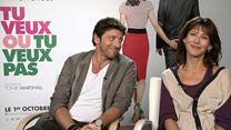 Patrick Bruel et Sophie Marceau : l'interview quiz !