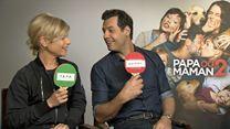 """Marina Foïs & Laurent Lafitte : l'interview """"Papa ou maman ?"""""""