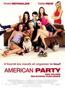 american party van wilder relations publiques film 2001 allocin. Black Bedroom Furniture Sets. Home Design Ideas