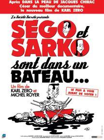 Ségo et Sarko sont dans un bateau