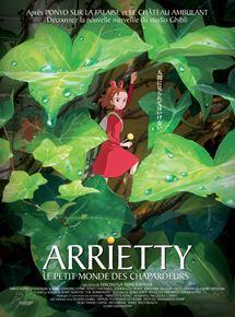 Arrietty le petit monde des chapardeurs streaming