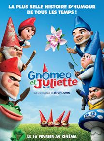 Gnomeo et Juliette streaming
