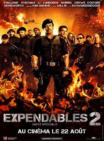 Expendables 2: unité spéciale streaming