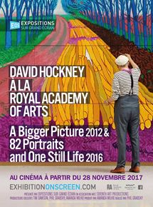 David Hockney à la Royal Academy of Arts : A Bigger Picture 2012 & 82 Portraits and One Still Life 2016 streaming