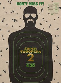 Super Troopers 2 affiche
