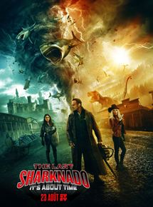 The Last Sharknado: It's About Time affiche