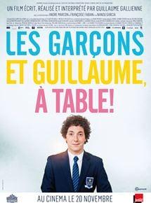 Les Garçons et Guillaume, à table ! streaming