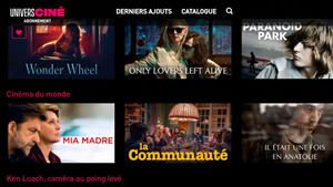 Streaming : UniversCiné lance sa plateforme avec des films de Coppola, Scorsese, Jarmusch...