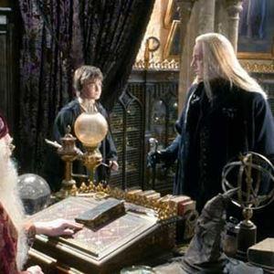 Harry Potter et la chambre des secrets : Photo Daniel Radcliffe, Jason Isaacs, Richard Harris