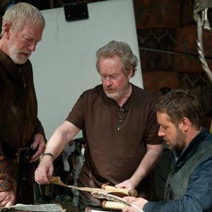 Robin des Bois : Photo Max von Sydow, Ridley Scott, Russell Crowe