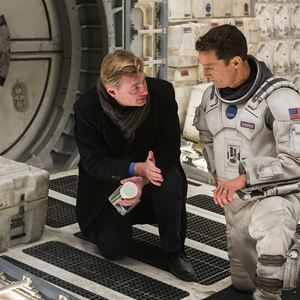 Interstellar : Photo Christopher Nolan, Matthew McConaughey
