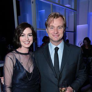 Interstellar : Photo promotionnelle Anne Hathaway, Christopher Nolan