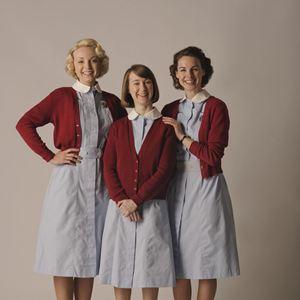 Photo Bryony Hannah, Helen George, Jessica Raine