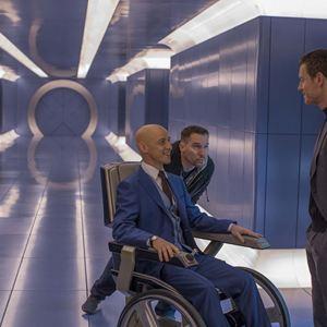 X-Men: Apocalypse : Photo Bryan Singer, James McAvoy, Michael Fassbender