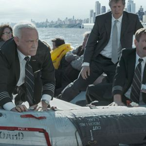 Sully : Photo Aaron Eckhart, Tom Hanks