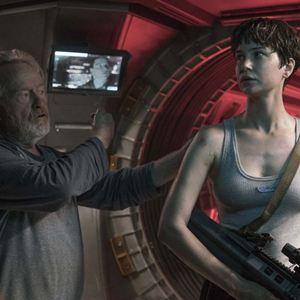 Alien: Covenant : Photo Katherine Waterston, Ridley Scott