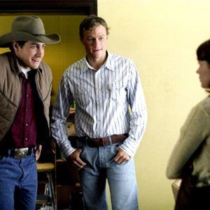 Le Secret de Brokeback Mountain : Photo Heath Ledger, Jake Gyllenhaal, Michelle Williams