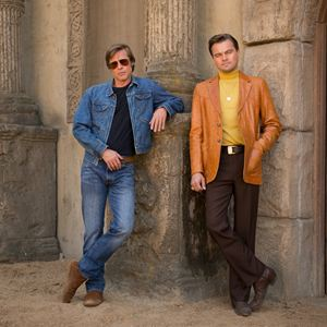 Once Upon A Time In Hollywood : Photo promotionnelle Brad Pitt, Leonardo DiCaprio