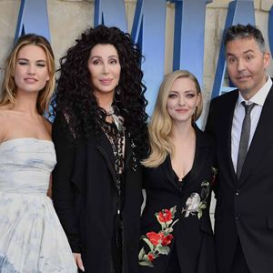 Mamma Mia! Here We Go Again : Photo promotionnelle Amanda Seyfried, Cher, Lily James, Ol Parker