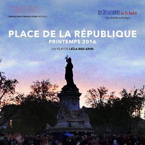Place de la République, printemps 2016 : Affiche