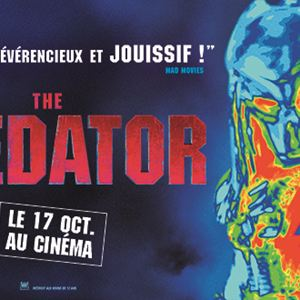 The Predator : Affiche