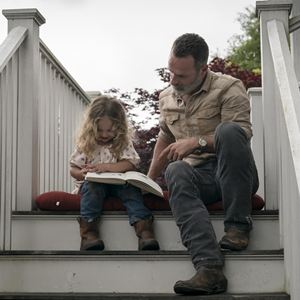 Photo Andrew Lincoln, Chloe Garcia-Frizzi
