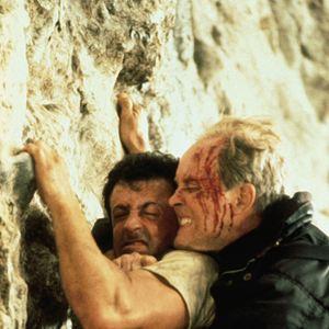Cliffhanger, traque au sommet : Photo John Lithgow, Sylvester Stallone