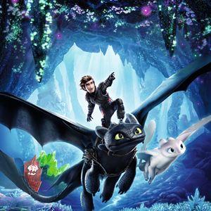 Dragons 3 : Le monde caché : Affiche
