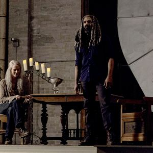 Photo Khary Payton, Melissa McBride