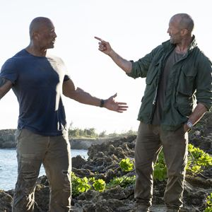 Fast & Furious : Hobbs & Shaw : Photo Dwayne Johnson, Jason Statham