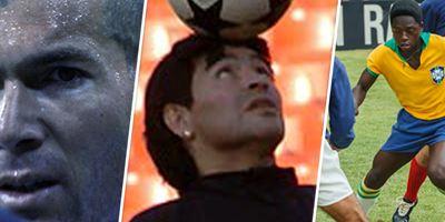 Zidane, Maradona, Pelé… 5 footballeurs tellement légendaires qu'un film leur a été consacré