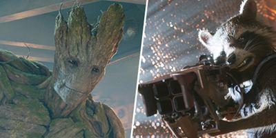 Disney + : Marvel prévoit aussi une série sur Groot et Rocket !