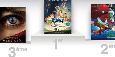 Box-office France : avec Astérix, Alexandre Astier reste en tête