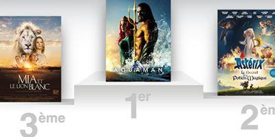 Box-office France : Aquaman est le plus gros succès de DC Comics en France comme dans le monde