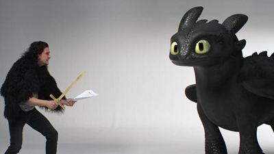 """Quand Kit """"Jon Snow"""" Harington passe un casting avec... le dragon Krokmou"""