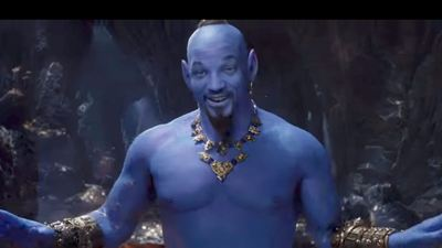 Aladdin : découvrez Will Smith en Génie bleu dans le nouveau teaser !