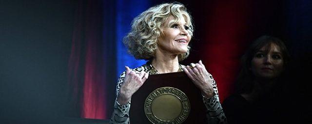 Lumière 2018: l'actrice et activiste Jane Fonda sacrée à Lyon
