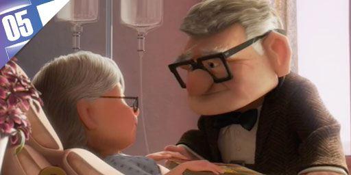 5 scènes de Pixar qui nous ont fait pleurer