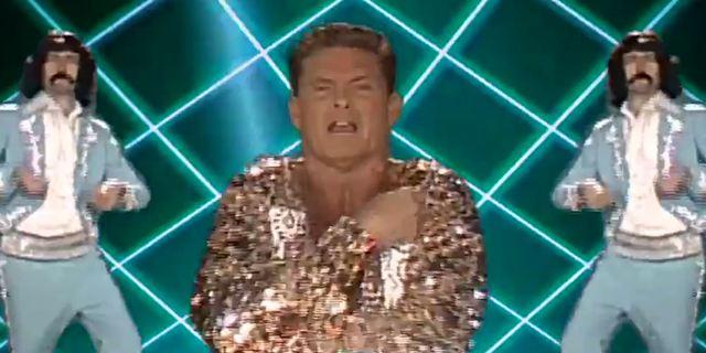 Les Gardiens de la Galaxie 2 : le clip kitsch et disco de David Hasselhoff est en ligne !