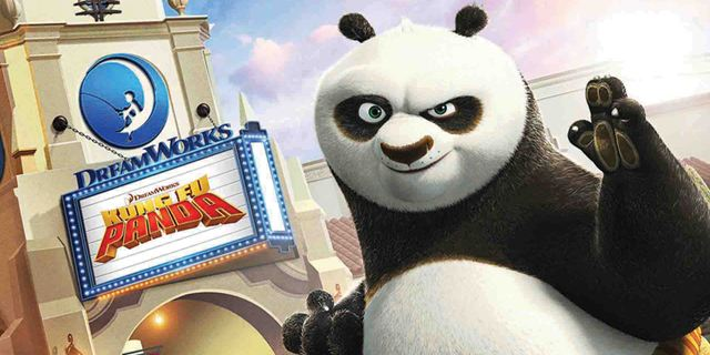 Kung Fu Panda est de retour... au parc Universal Studios