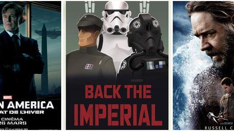 """""""Captain America, le Soldat de l'hiver"""", """"Star Wars Rebels"""", """"Noé""""... Le plein d'affiches !"""