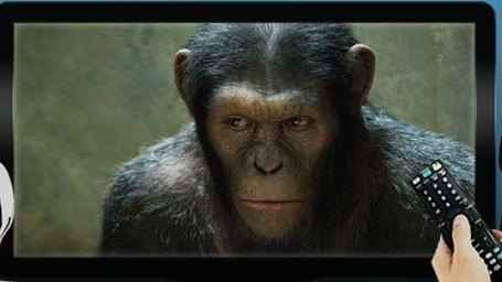 """Ce soir à la télé : on mate """"La Planète des singes : les origines"""", on zappe """"Promotion canapé"""""""