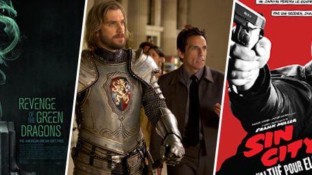 Sin City 2, La nuit au musée 3, Revenge Of The Green Dragons... Les images ciné incontournables de la semaine !