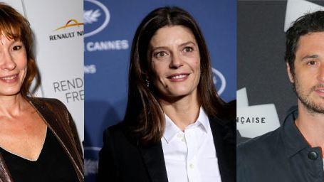 Emmanuelle Bercot, Chiara Mastroianni, Jérémie Elkaïm au casting de la série Fiertés