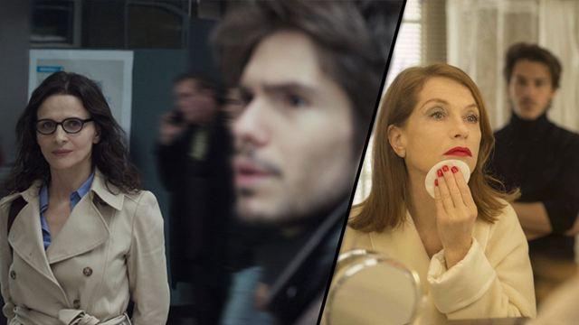 François Civil - Juliette Binoche, Gaspard Ulliel - Isabelle Huppert... Quand de mêmes acteurs jouent les enfants, puis les amants !